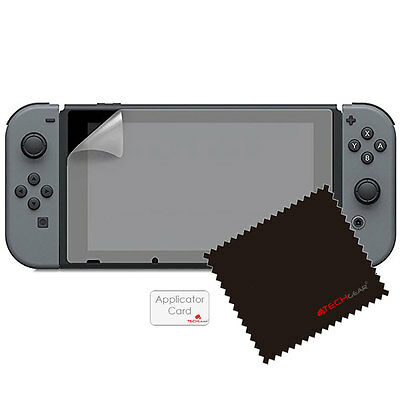 2 Pack of TECHGEAR Screen Protector Guard Covers for Nintendo Switch