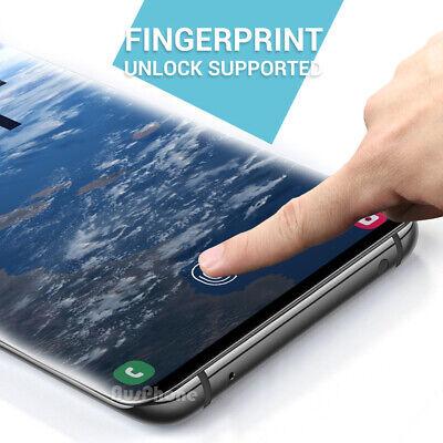 SAMSUNG GALAXY S10 5G PLUS S10e HYDROGEL AQUA FLEXIBLE Crystal Screen Protector 12