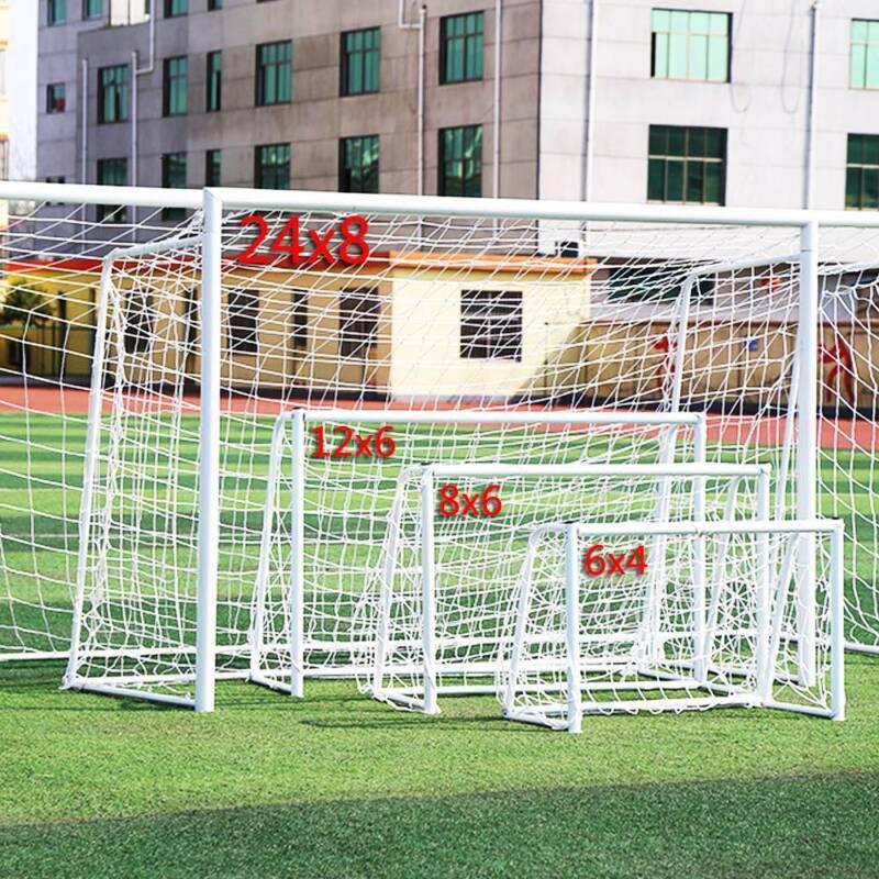 S-XL Football Soccer Goal Post Nets Sports Training Match Replace (Only Net) 11