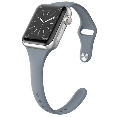 For Apple Watch Series 5/4/3/2 Replacement Silicone Soft Sport iWatch Band Strap 5