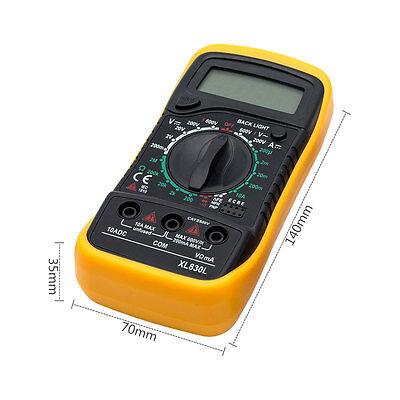 Tester Multimeter Xl830L Multimetro Digitale Pro Tester Professionale Con Cavi 2