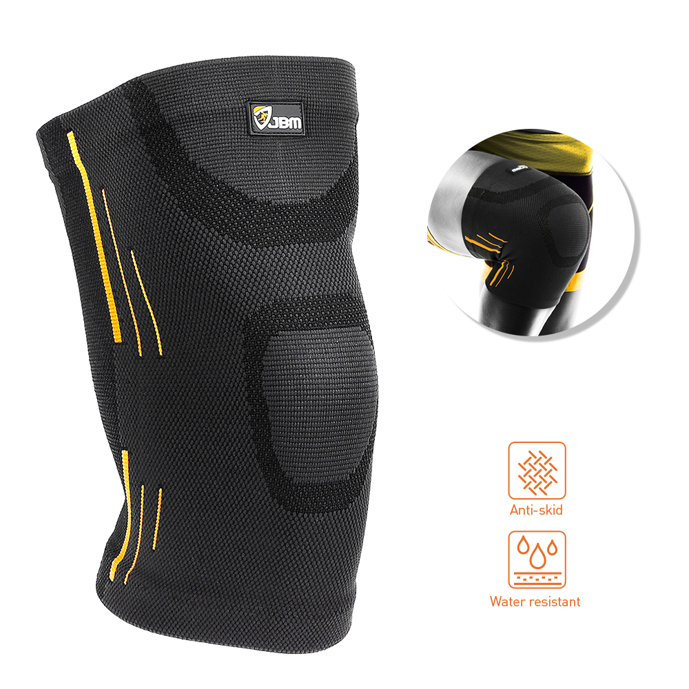 2X Knee Compression Sleeve for Arthritis Joint Pain Relief Workout Sport Braces 2