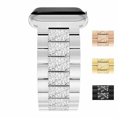 US Apple Watch Series 5 4 3 2 38/42MM Stainless Steel Bracelet iWatch Band Strap 8