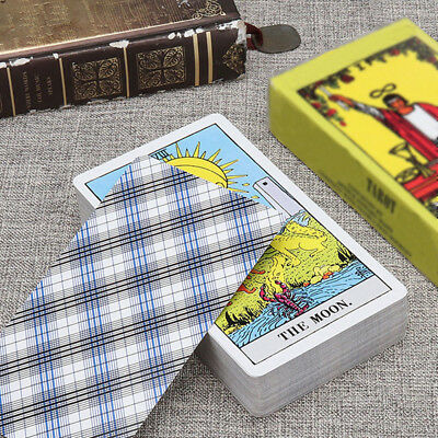 78Pcs Rider Tarot Deck Cards Sets 4