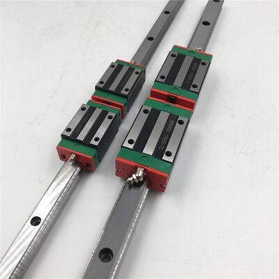 HGR25 Linear Guide Rail L1200mm & 2pcs HGH25CA Rail Guide Block Slider HIWIN 9