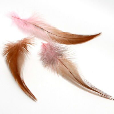 50Pcs Fluffy Rooster Tail Feathers For DIY Craft/Dress/Carnival Party Decoration 11