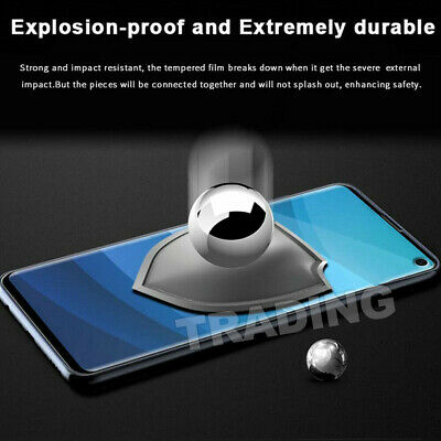 Galaxy S9Plus S10 5G Note9 S10e Full Tempered Glass Screen Protector For Samsung 6
