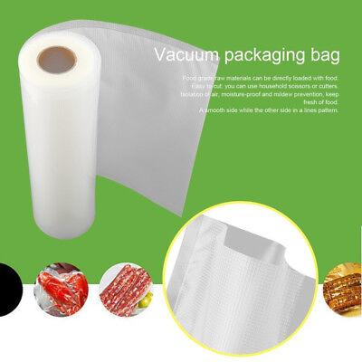 6 X 28Cm Vacuum Sealer Rolls Food Storage Saver Heat Seal Cryovac Commercial Bag 7