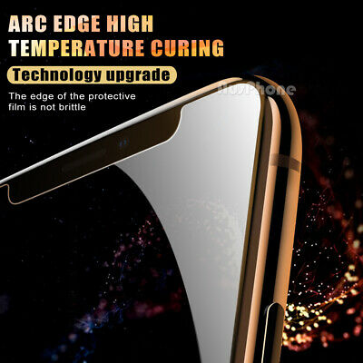 2x Nuglas Tempered Glass Screen Protector For iPhone 11 Pro XS Max X 8 7 6S Plus 3