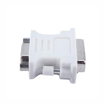 DVI to VGA SVGA Converter Adapter DVI-D Dual Link 24+1 pin Male to 15 Female New 6