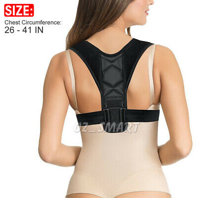 Posture Clavicle Support Corrector Back Straight Shoulders Brace Strap Correct 2