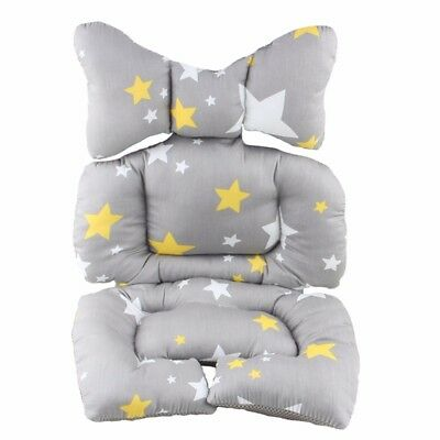 Infant Baby Stroller Seat Cushion Pad Pushchair Car Safe Seat Chair Mat Cover 11