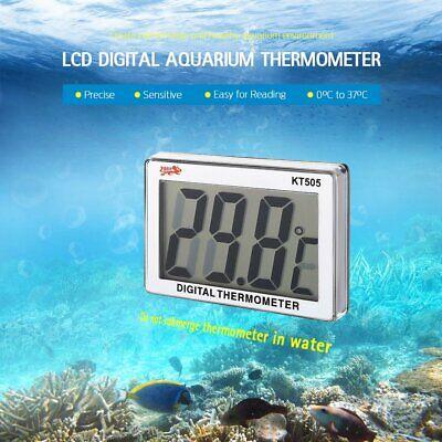 Aquarium Fish Tank Water Thermometer Digital Electronic LCD Sensor Controller 6