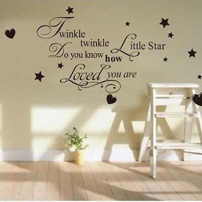1 Of 4free Shipping Le Little Star Wall Sticker Quote Kid Nursery Decor Vinyl Decal Diy
