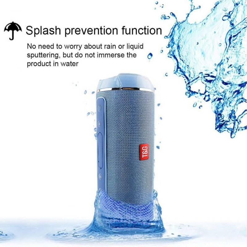 40w Portable Wireless Bluetooth Speaker Waterproof Bass Stereo USB/TF/AUX MP3 UK 4