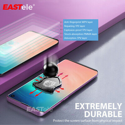 EASTele Samsung Galaxy S10 5G S9 S8 Plus Note 10 9 5G HYDROGEL Screen Protector 6