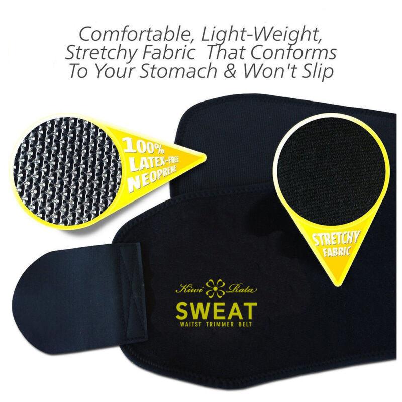 Neoprene Waist Trainer for Men&Women Sport Gym Sweat Slimming Belts Body Shaper 9