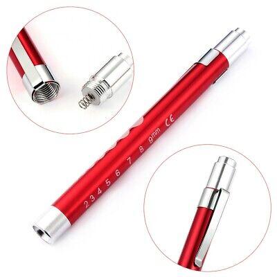Medical Pen LED Light Pocket Torch Reusable Emergency Doctor Nurse Surgical 5