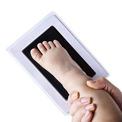 Fussabdruck Handabdruck Stempel Baby Neugeborenen Clean Touch Abdruckkissen 3