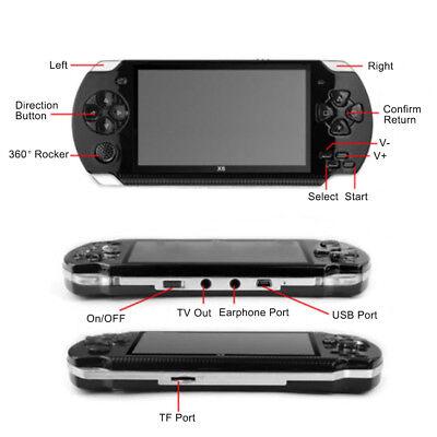 "X6 PSP 8G 4.3"" Handheld Spielkonsole funny Spiele +Kamera tragbar player Hohe 4"