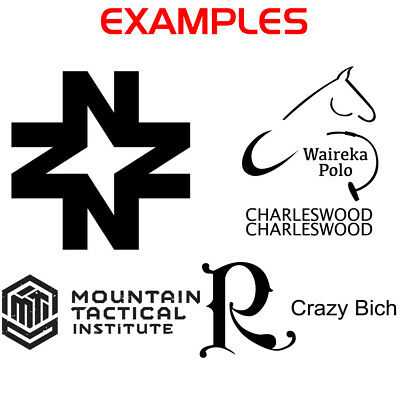 Custom Logo Sticker - Vinyl Die Cut Decals Your Company Business Logo ANY COLOR 2