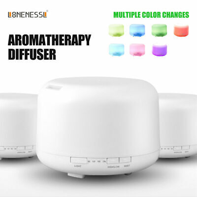 Aroma Aromatherapy Diffuser LED Essential Oil Ultrasonic Air Humidifier Purifier 10