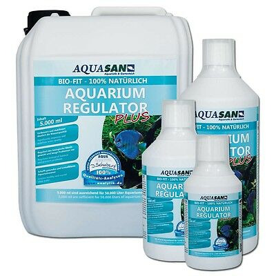 (17,99€/l) AQUASAN Bio-Fit Aquarium Regulator 1000 ml natürlich, Mikroorganismen