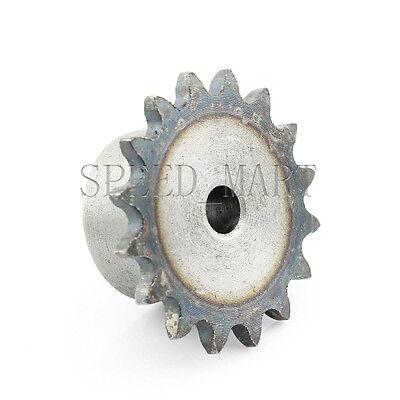 2 PCS 10mm Bore 30 Teeth 30T Metal Pilot Motor Gear Roller Chain Drive Sprocket