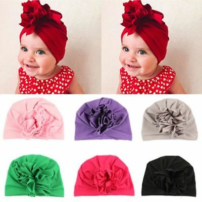 Baby Toddler Girls Kids Bunny Rabbit Bow Knot Turban Headband Hair Band Headwrap 6