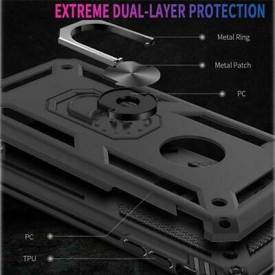 For Samsung Galaxy A70  A71 Ring Holder Case Heavy Duty Cover Screen Protector 6