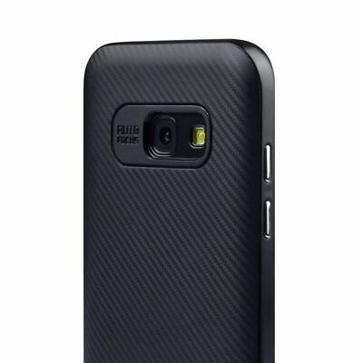 Luxury Carbon Fibre Case Silicone Protective Cover For Samsung Galaxy S6 S7 Edge 10