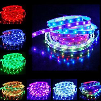 5V USB 5M LED Strip Lights TV Backlight 5050 RGB Colour Changing +Remote Control 10
