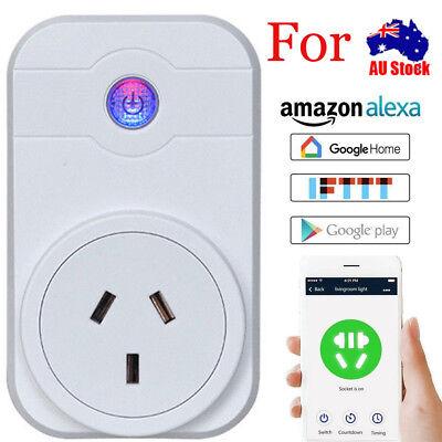 4 PCs Smart Plug WiFi Sockets Power Socket Amazon Alexa / Google Home AU STOCK 3