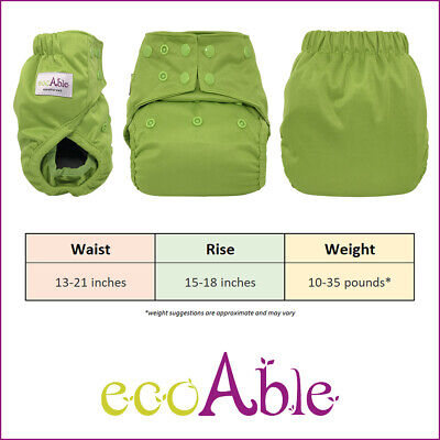 Baby Heavy Duty Diaper Cover with Leg Gussets 3
