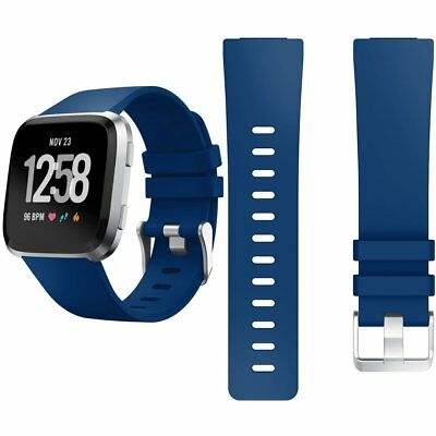 Fitbit Versa /Lite Replacement Silicone Watch Wrist Sports Band Strap Wristband 6