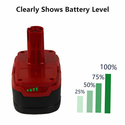 2Pcs of Craftsman 19.2V XCP Lithium-ion C3 Diehard Battery 11375 PP2025 PP2030 6