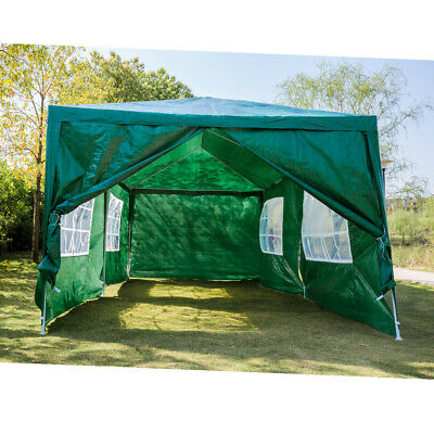 New 3X3m/4m/6m Waterproof Garden Gazebo Party Tent Marquee Awning Canopy Shelter 8