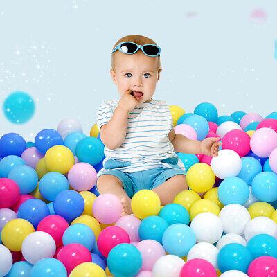 50-500PCS Plastic Pit Balls For Children Ball Kids Multi Coloured Toys Play Pool 2