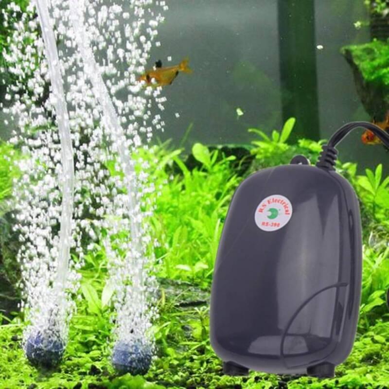 High Efficient  Fish Tank Aquarium Oxygen Fish Air Pump Tank Super Silent 3W/5W 4