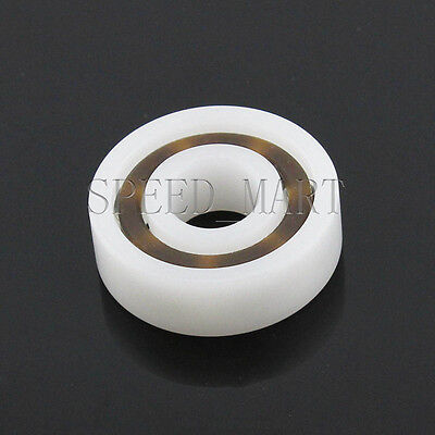 Plastic Bearing POM 16001 Glass Balls 12x28x7 Ball Bearings 12330
