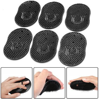 6Pieces Pocket Comb Brush Hair Men Beard Mustache Palm Travel Scalp Massager Hot 2