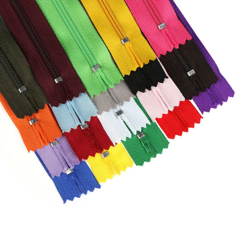 Lots Colors Resin Nylon Zipper For Sweater Jacket Handbags DIY Tailor Sew Craft~ 9