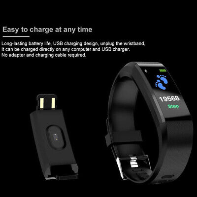 Smart Watch Fitness Tracker Fit Bluetooth Step Caolorie Sport Android iPhone 4
