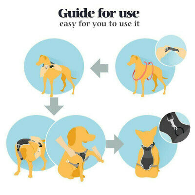 Rabbitgoo Dog Harness NoPull Pet Control Adjustable Reflective Collar Soft Vest 5