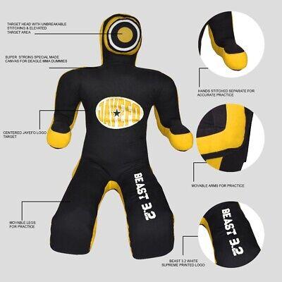SAVVY Brazilian Grappling Dummy MMA Wrestling Bag judo Martial Arts 6ft