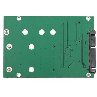 mSATA / M2 NGFF SSD to SATA Converter Adapter Combo Card M.2 2 In 1 8