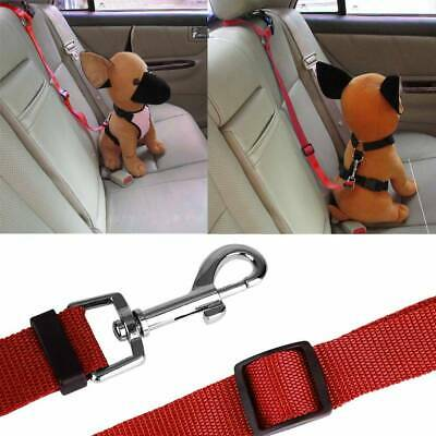 Adjustable Car Safety Seat Belt Harness Travel Lead Restraint Strap For Dog Pet 10