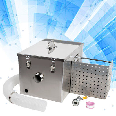 USA Stainless Steel Commercial Grease Trap Interceptor Filter Kit for Restaurant 2