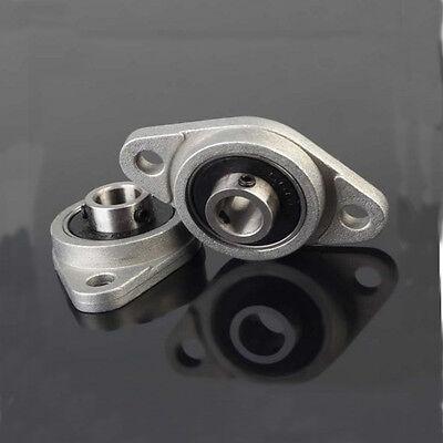 8mm Bearing Flange Block Bearings Bore Diameter KFL08 Pillow Block 2pcs 3