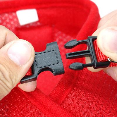 Cat Walking Jacket Harness Leash Escape Proof Adjustable Pet Puppy Dog Mesh Vest 10